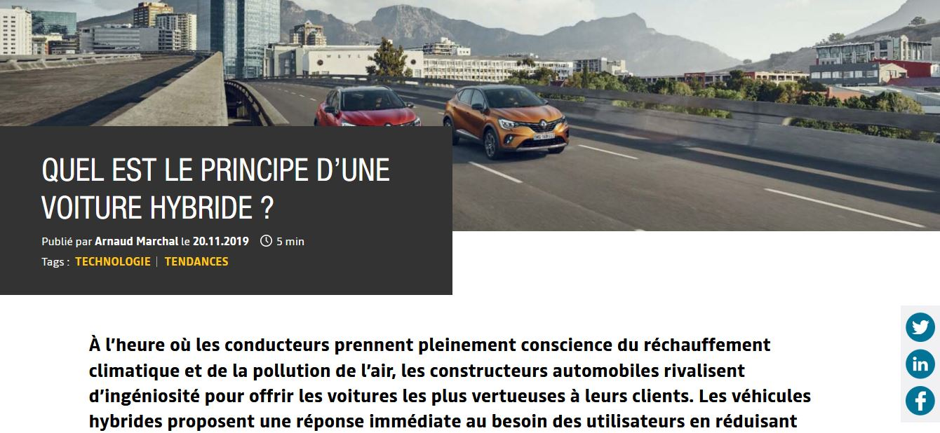 Renault EasyLife Arnaud MARCHAL